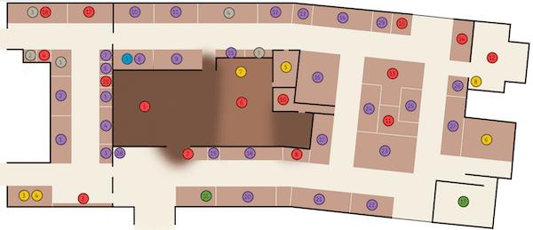 Gear market map (Darklands 2020)